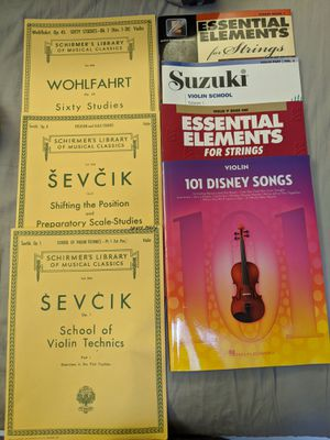 Seven Violin books/sheet music for Sale in Arlington, VA