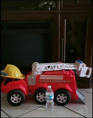 Kids. Large firefighter truck toy. $10firm for Sale in Phoenix, AZ