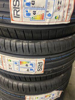 Tengo set De Llantas Nuevas Dela La Marca Iris 2154018 instalación Y Balanceo Y Garantía $270 for Sale in Lakewood,  CA
