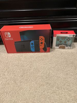 Nintendo Switch with Animal Crossing Controller for Sale in Gaithersburg, MD