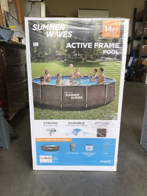 Summer Waves 14ft Active Frame Pool Brand New for Sale in Frederick, MD
