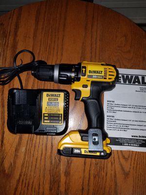 New dewalt 20v MAX hammer drill kit for Sale in Ashburn, VA
