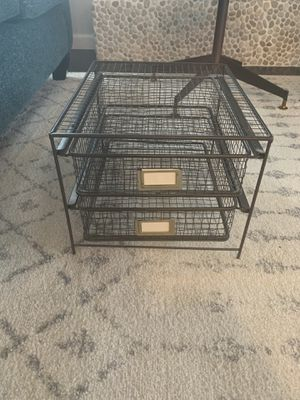 Paper holder / office organizer for Sale in Woodway, WA