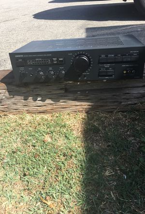 Onkyo receiver made in Japan power for Sale in Buena Park, CA