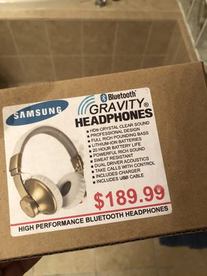 Samsung Gravity Headphones for Sale in Tampa, FL