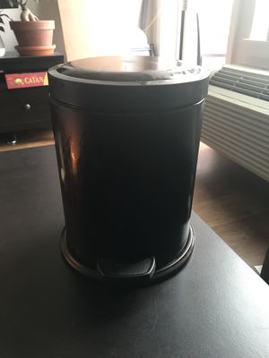 Mini Metal Wastebasket - Brown for Sale in Portland, OR