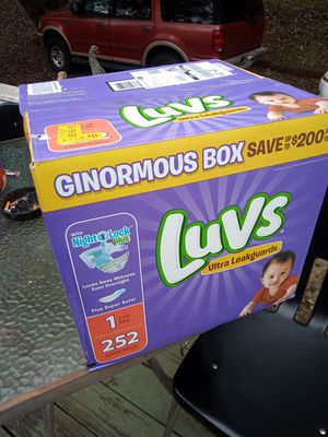Luvs Diapers Size 1 **252 count** for Sale in Duncan, SC