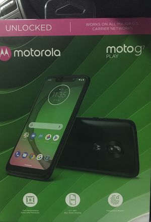 BRAND NEW Motorola motog7 play UNLOCKED for Sale in Mission Viejo, CA