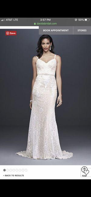 David's bridal Wedding dress for Sale in Detroit, MI