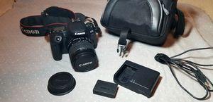 Canon 77D + accessories for Sale in Arlington, TX