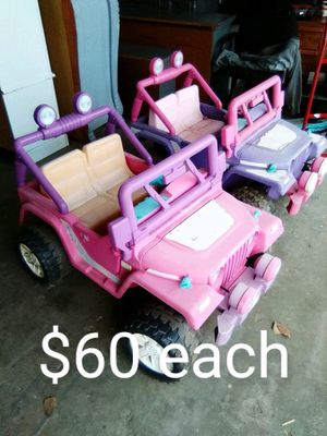 2 power wheels for Sale in Lakeside, CA
