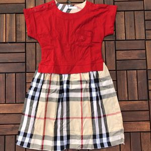 Burberry Red Dress 11-12 Years for Sale in Santa Clara, CA