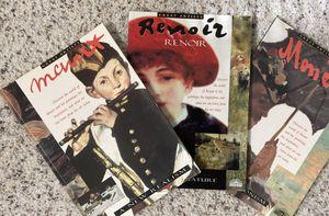 3 mini art books Manet, Renoir, Monet for Sale in Federal Way, WA