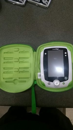 Leap frog leap pad with case for Sale in Phoenix, AZ