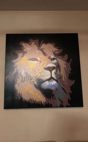 Lion painting! for Sale in San Diego, CA
