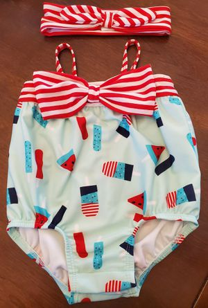 Baby girl swim outfit. $5 for Sale in Fresno, CA