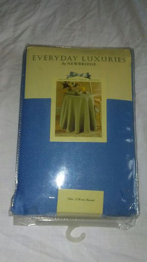 Everyday Luxuries Fabric Tablecloth for Sale for sale  Queens, NY
