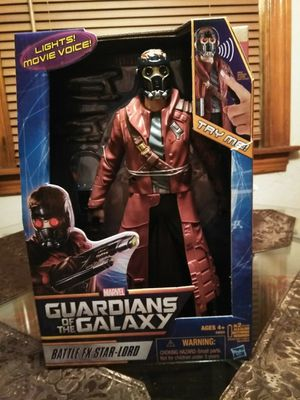 """GUARDIANS OF THE GALAXY..Battle FX """"StarLord"""" action figure 2013 12 1/2"""" tall for Sale in Wolcott, CT"""