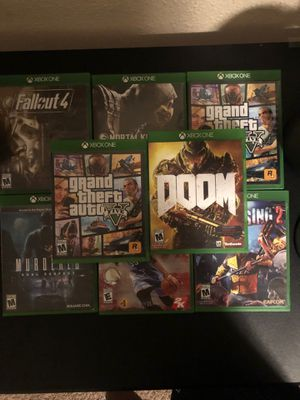 Xbox one games for Sale in Riverside, CA