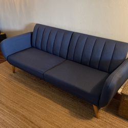 Couch - Navy Blue (Novogratz Brittany) for Sale in Mountain View,  CA