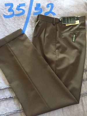 NEW($120) dress pants, RALPH LAUREN, size 35/32, $25( firm) for Sale in Chula Vista, CA