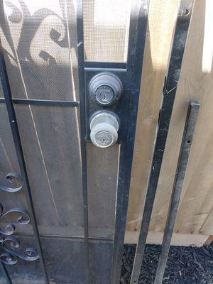Black screen door for Sale in Salida, CA