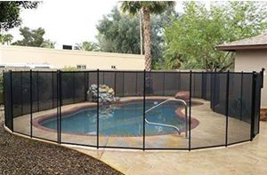 Pool fence 12ft sections ( 4 sections ) apx48 ft for Sale in Bakersfield, CA