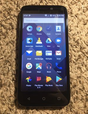 ZTE att Like New with Case for Sale in Parma, OH