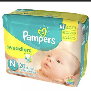 Pampers Swaddlers Newborn (240count) for Sale in Overland Park, KS