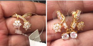 NWT Set of Handcrafted Ring and Earrings. 18K GF. for Sale in Las Vegas, NV