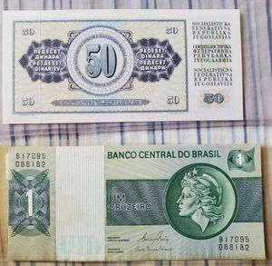 Foreign Currency Yugoslav and Brasil for Sale in Alhambra, CA