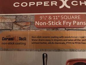 COPPER CHEF - 2 SQUARE PANS - BRAND NEW for Sale in Manassas, VA