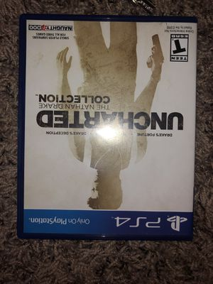 Uncharted Nathan Drake Collection Ps4 games for Sale in Centreville, VA