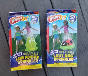 SPRINKLERS, INFLATABLE.. NEW IN BOX for Sale in Brockton, MA