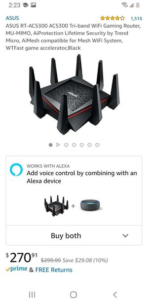 Wifi Gaming/Steaming Router for Sale in Lynwood, CA