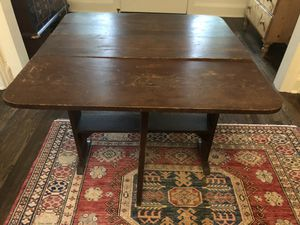 Antique folding table for Sale in Seattle, WA