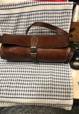 Old Harley,Indian etc tool bag for forks or? for Sale in Everett, WA