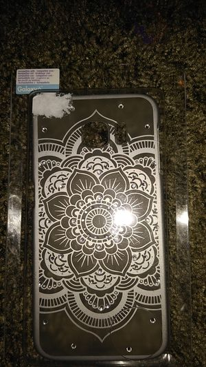 GALAXY 6 clear flower phone case for Sale in Pasco, WA