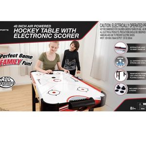 MD Sports 48 Inch Air Powered Hockey Table for Sale in San Diego, CA