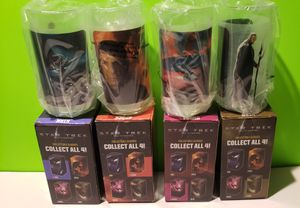 Star Trek Collectible Glasses - 2008 Burger King Promo (You get all 4) for Sale in Reinholds, PA