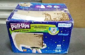 Pull Ups Huggies Night Time sz 2T/3T Tot Story 68 count for Sale in Clovis, CA