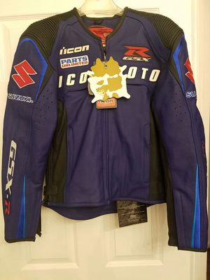 ICON Automag Suzuki Motorcycle Jacket for Sale in District Heights, MD