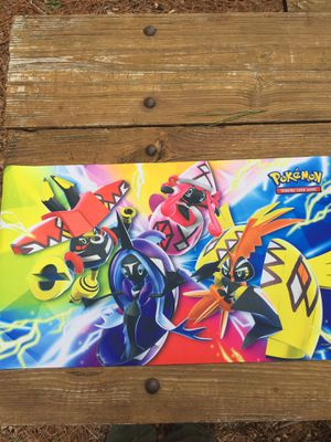 Pokemon island guardians play mat for Sale in Brentwood, NC