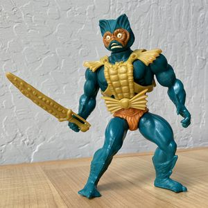Vintage Heman and the Masters of the Universe Merman Action Figure Complete With Armor & Weapon for Sale in Elizabethtown, PA