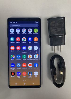 Samsung Galaxy note 9 , unlocked , with store warranty and receipt for Sale in Cambridge, MA