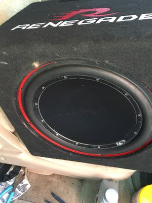 12 inches Rockford Fosgate for Sale in Boston, MA
