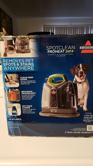 Bissel carpet and upholstery cleaner for Sale in Bakersfield, CA