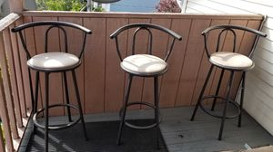 3 stools for Sale in Woonsocket, RI