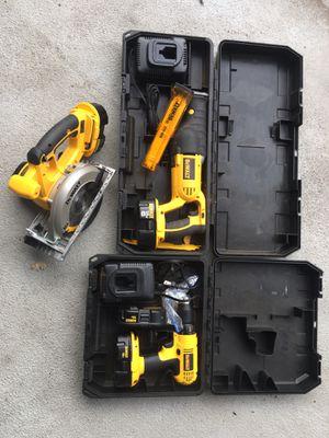DeWalt cordless tools 18v for Sale in Portland, OR