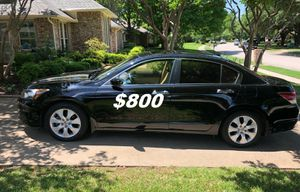 $8OO URGENT For sale 2OO9 Honda Accord EX-L V6 Sport Runs and drives great! Clean title. for Sale in St. Louis, MO